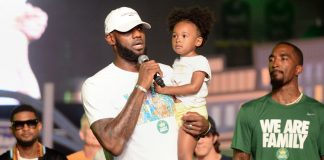 LeBron James speaks