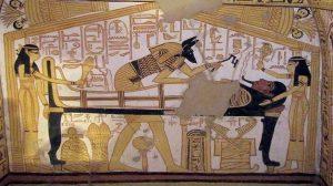 eski mısırda mumyalama sanatı