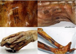 Dövme - Ötzi