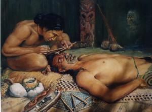 Maori - Dövme