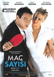 Match Point film afişi