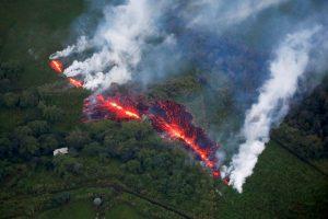 Havai yanardağ patlama