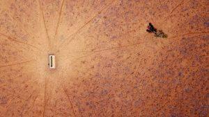 Avustralya çöl kuraklık