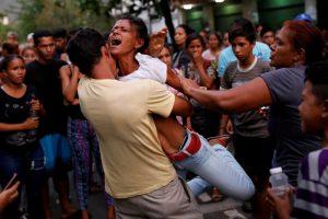 hapishane Venezuella protesto