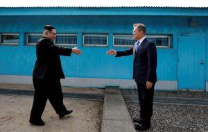 Kuzey Kore Güney Kore Kim-Jong