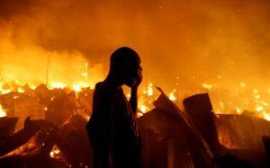 Kenya yangın