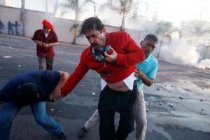Honduras protesto