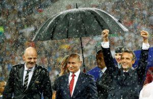 Putin Macron Fransa Rusya Dünya Kupası