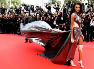 Cannes film festivali Winnie Harlow