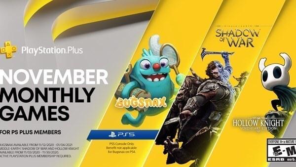 PS Plus Kasım 2020 Ücretsiz Oyunları Belli Oldu